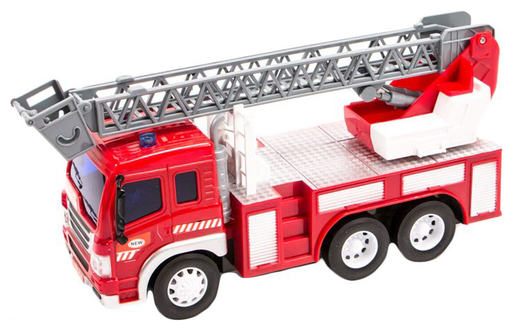 Купить Пожарная машина р/у FullFunc (на бат, свет) 1:16, WenYi, Радиоуправляемая спецтехника