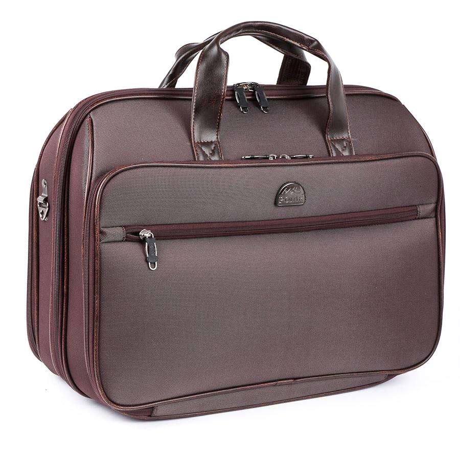 Дорожная сумка Polar 7045п коричневая 52 x 35 x 18
