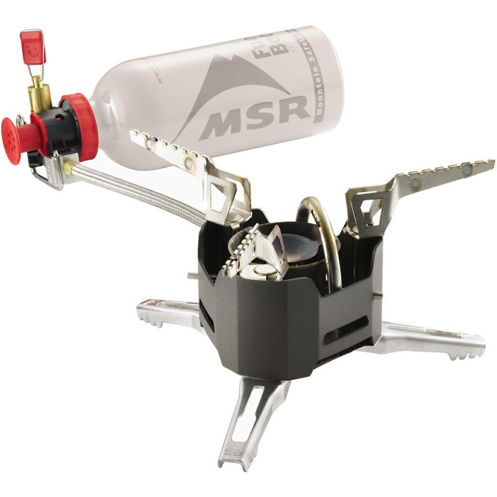 Туристическая горелка жидкотопливная MSR XGK EX серая