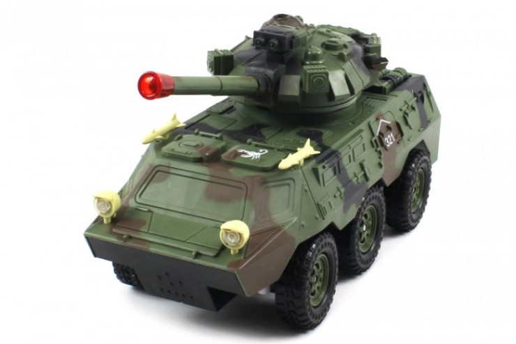 Военный бронетранспортер Armored Car на р/у