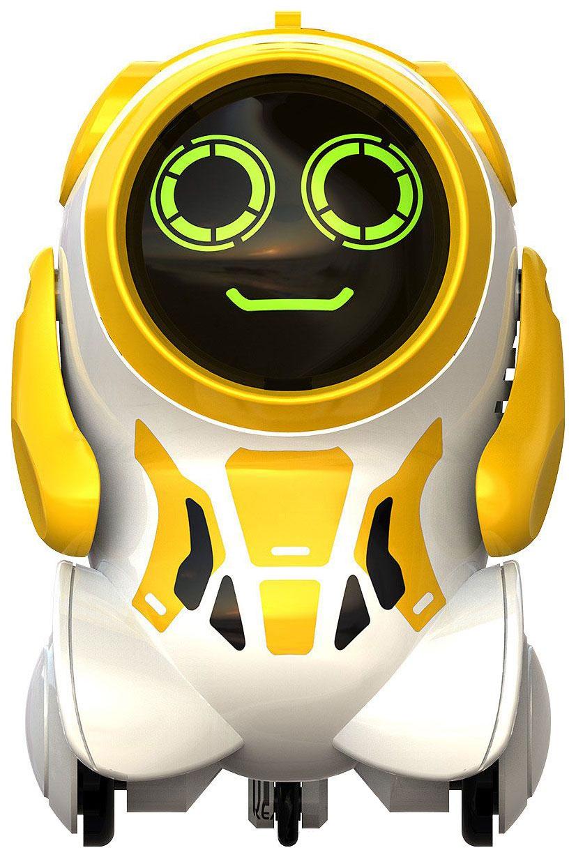 Купить Интерактивный робот Silverlit Покибот желтый круглый, Интерактивные мягкие игрушки