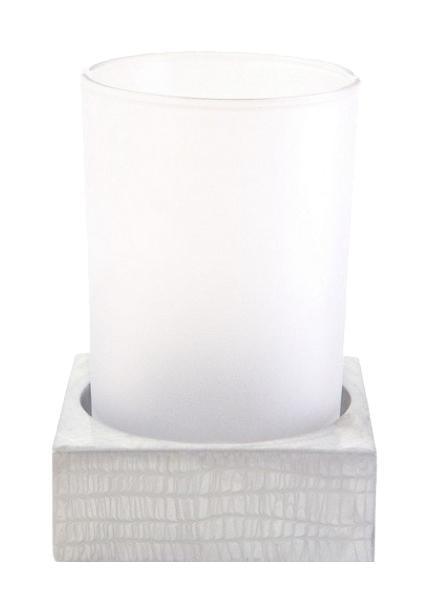 Стакан для зубных щеток Kassatex Delano Silver