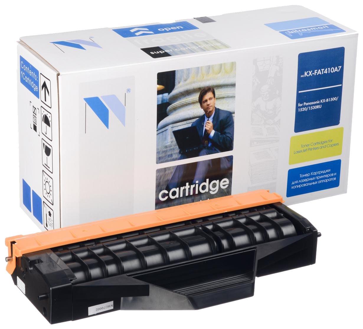 Картридж для лазерного принтера NV Print KX-FAT410A, черный NV-KX-FAT410A