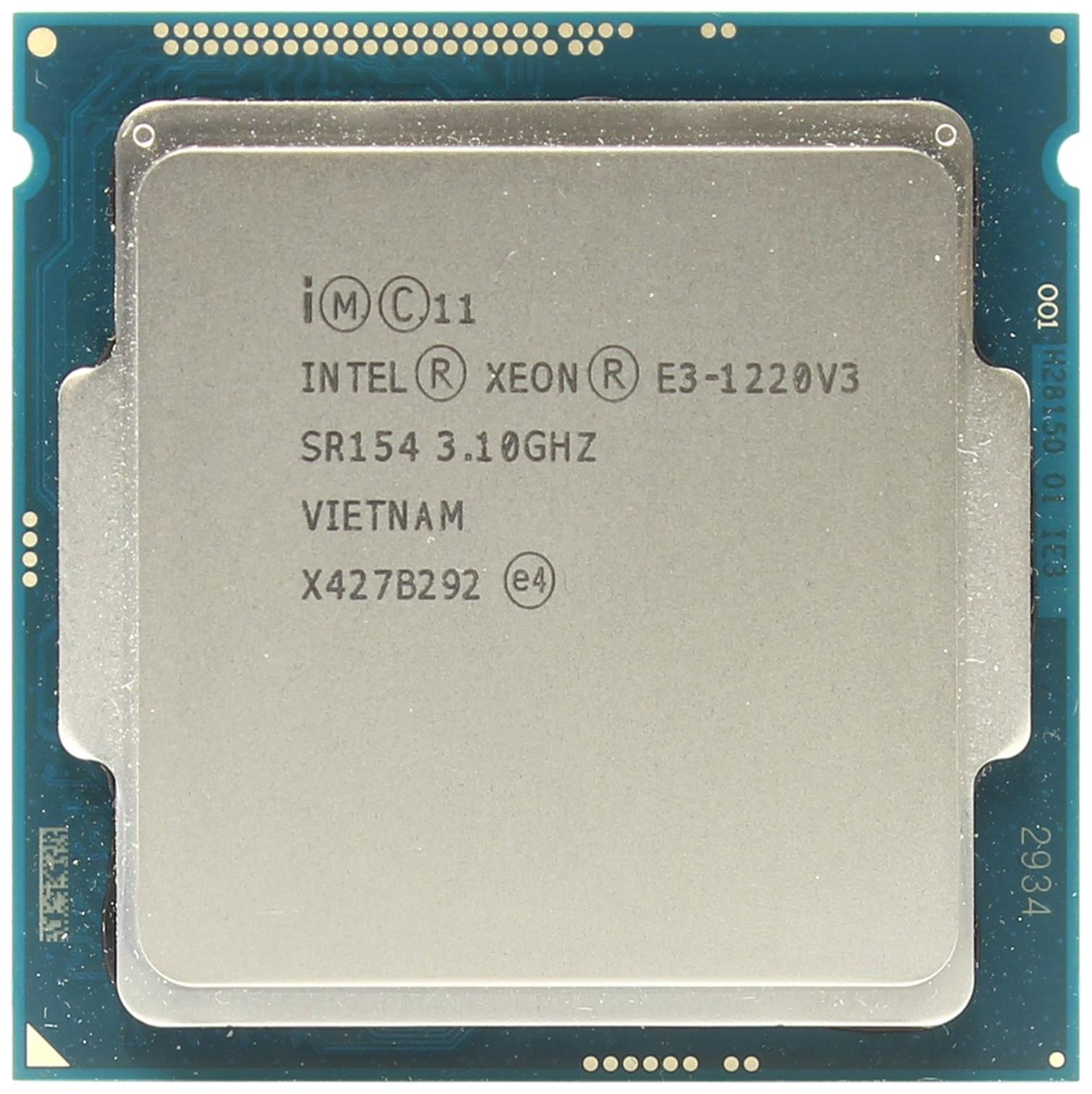Процессор Intel Xeon E3 1220 v3 OEM
