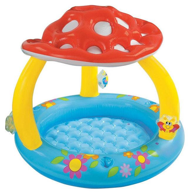 Купить Детский бассейн INTEX Грибок 102х89 см, Детские бассейны
