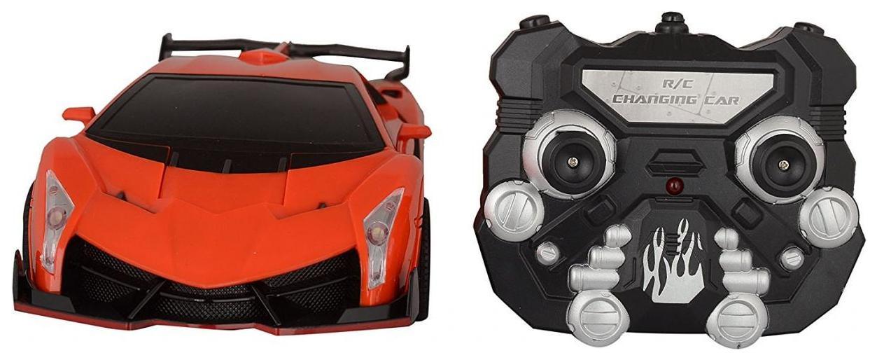 Купить Радиоуправляемая машинка-трансформер Jia Qi Lamborghini Красный, Радиоуправляемые машинки