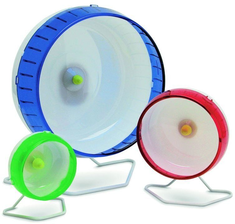 Беговое колесо для грызунов I.P.T.S. пластмассовое бесшумное