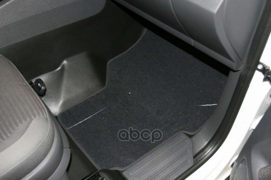 Коврики в салон Autofamily для VW Multivan HighLine 2004, текстиль