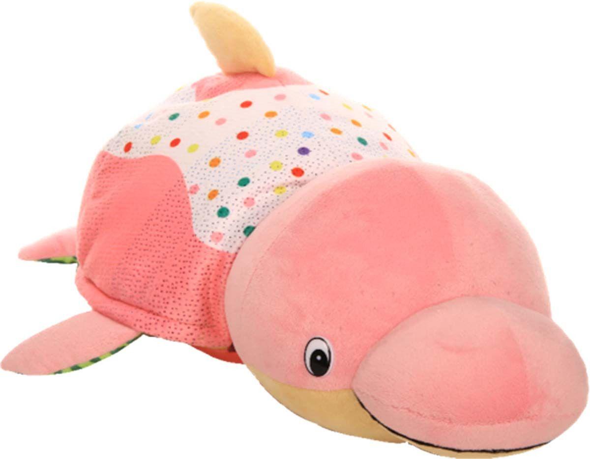 Купить 1 TOY Вывернушка 2 в 1 Ням-Ням. Морж-Дельфин, 40 см Т13925, Мягкие игрушки животные