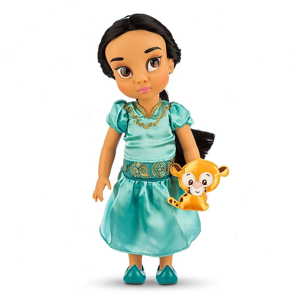 Кукла Disney Жасмин с питомцем из серии Аниматорз B00P555
