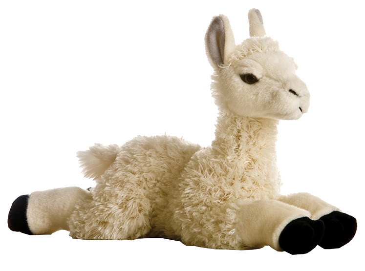 Мягкая игрушка Aurora Лама 25 см 170863B фото