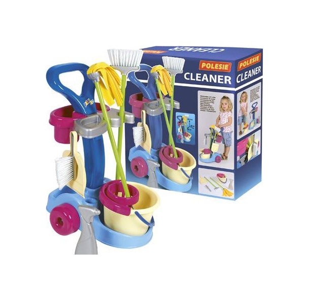 Набор для уборки игрушечный Полесье Чистюля