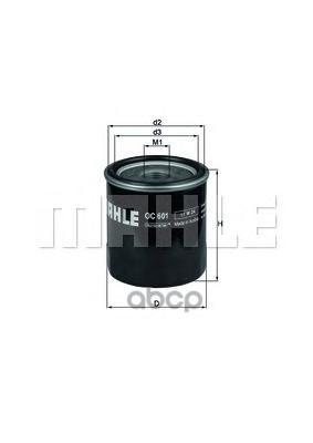 Масляный фильтр Mahle OC 601