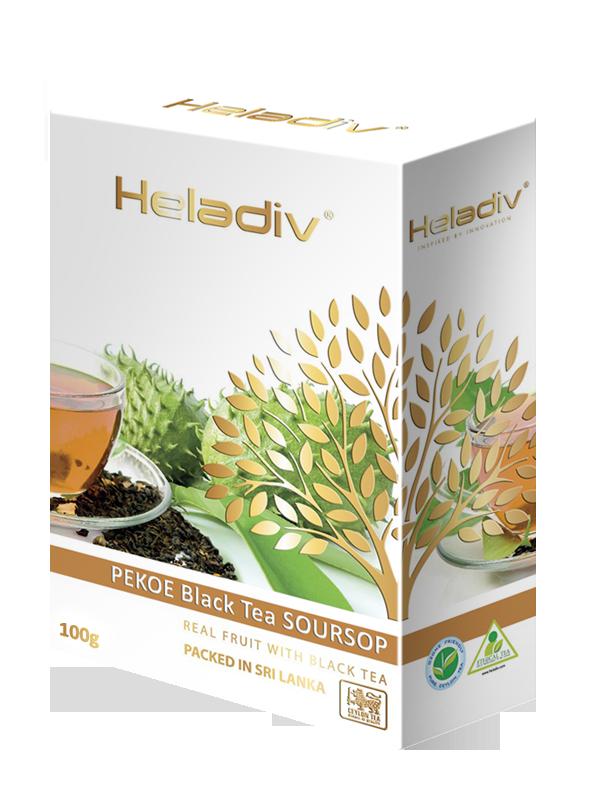 Чай черный листовой Heladiv soursop black tea 100 г