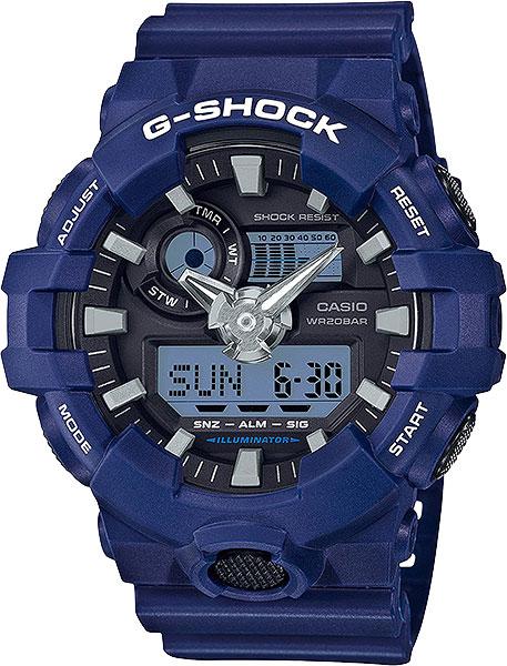Японские наручные часы Casio G-Shock GA-700-2A с хронографом фото