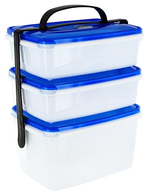 Контейнеры для хранения пищи Plast Team TopBox
