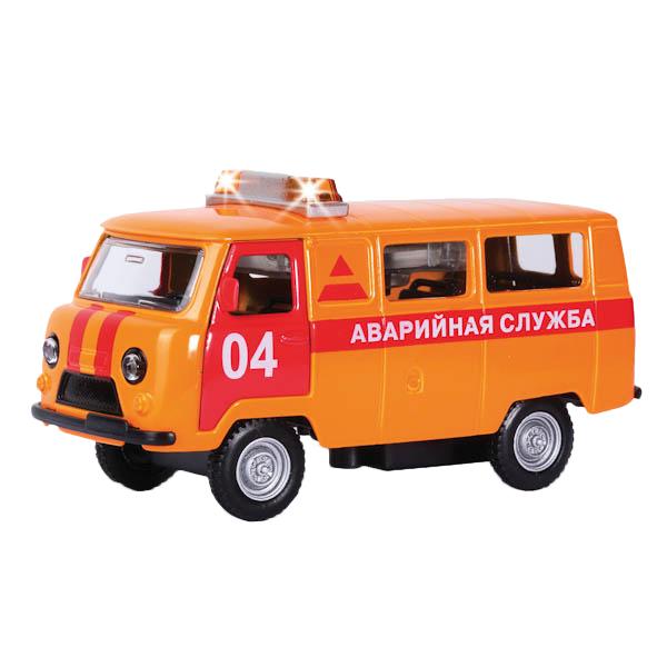 Машина аварийная Технопарк UAZ 39625 1:43
