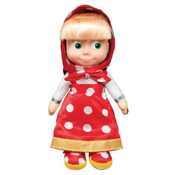 Мягкая игрушка Мульти-Пульти Маша пласт. лицо (м/ф маша и медведь) 29 см