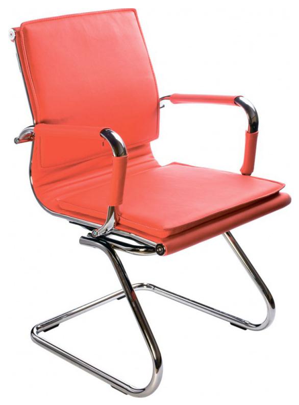Офисный стул Бюрократ CH-993-LOW-V/Red, красный