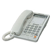 Телефон проводной Panasonic KX TS2365 RU W