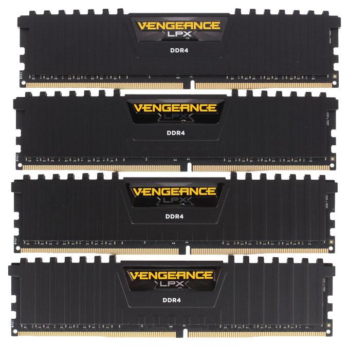 Оперативная память Corsair VENGEANCE LPX CMK64GX4M4A2666C16