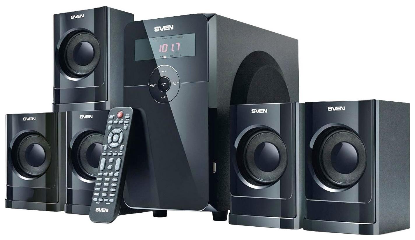 Колонки для компьютера Sven HT 200 Black
