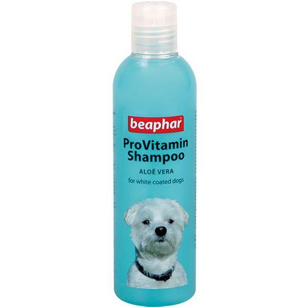 Шампунь для собак Beaphar ProVitamin White для белых окрасов, универсальный, 250 мл