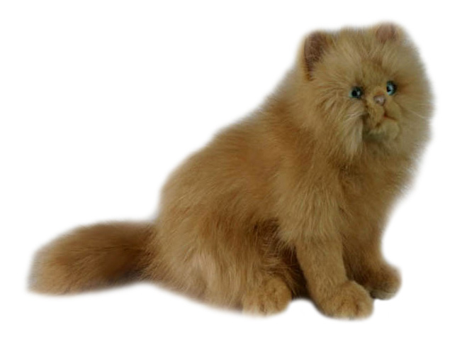 Кошка рыжая 27 см, Мягкая игрушка Hansa Кошка Рыжая 27 см, Мягкие игрушки животные  - купить со скидкой