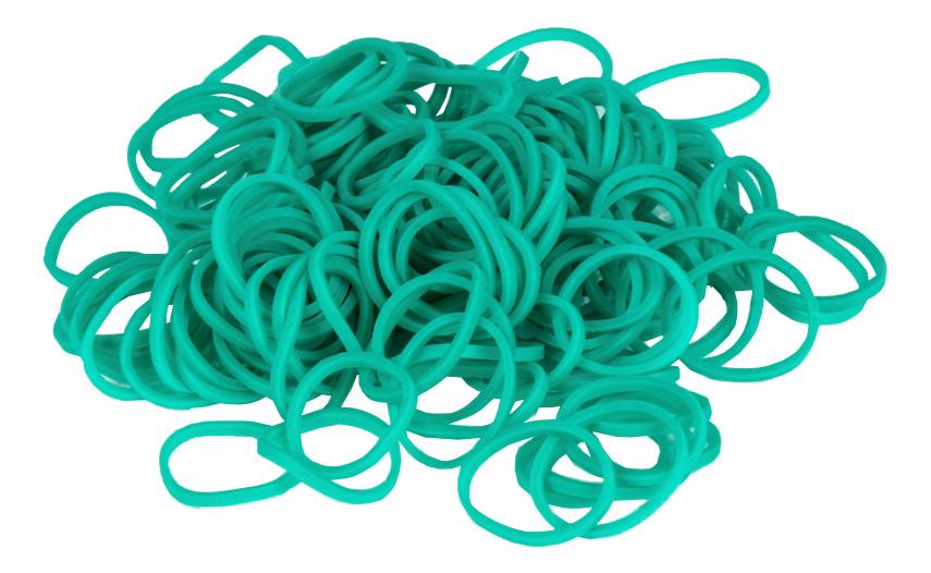 Плетение из резинок Rainbow Loom Solid Bands - Teal