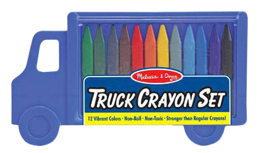 Набор для рисования Melissa #and# Doug Грузовик с карандашами