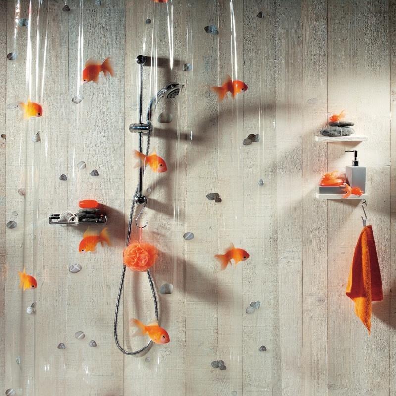 Штора для ванной Spirella Goldfish 1000097
