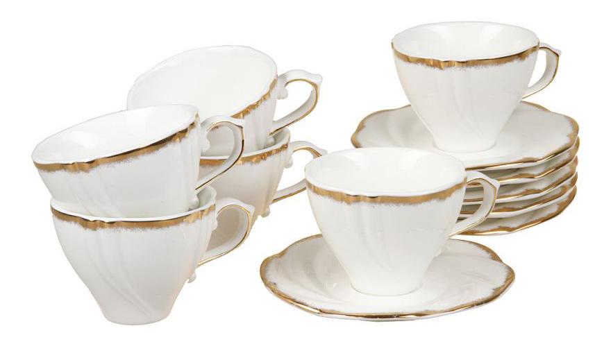 Чайный сервиз Rosenberg Чайный сервиз 8721, 12 предметов, 200 мл 12 пр. фото