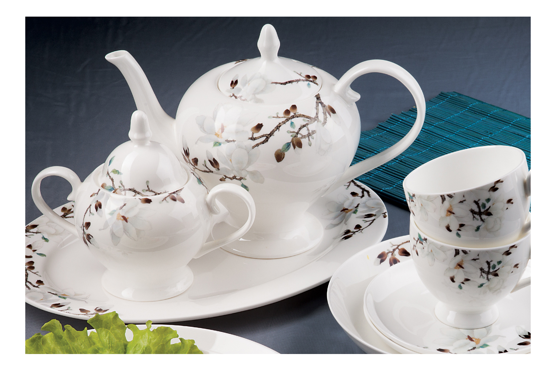 Чайный сервиз Royal Aurel Магнолия 15 пр.