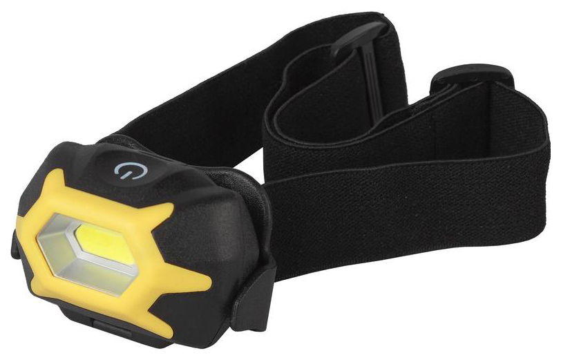 Туристический фонарь Эра GB-701 желтый/черный, 3 режима