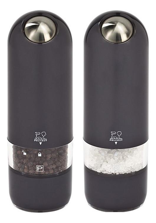 Мельница для перца Peugeot Duo 17 см черная 2 шт.