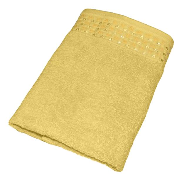 Банное полотенце Aisha желтый