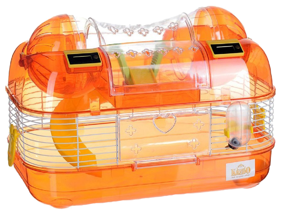 Клетка для хомяков KREDO 27х25х39см электронный счетчик оборотов