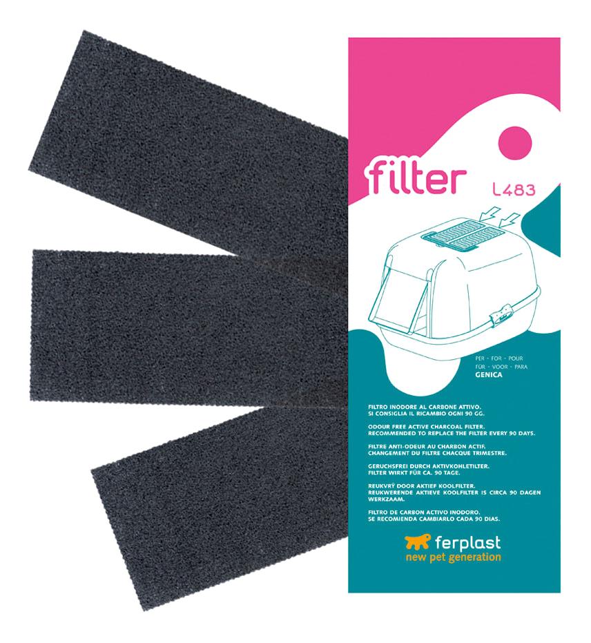 Био фильтр для кошачьего туалета ferplast 93430017