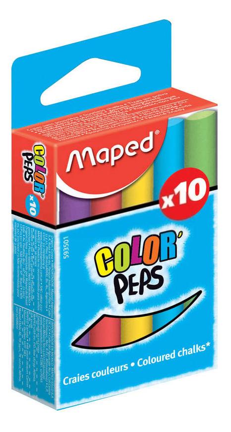 Набор мелков Maped Color Peps 10 цветов