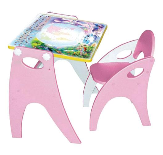 Комплект детской мебели ИНТЕХПРОЕКТ Парта мольберт