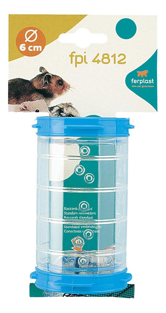 Тоннель для грызунов Ferplast пластик, 6х11 см, цвет