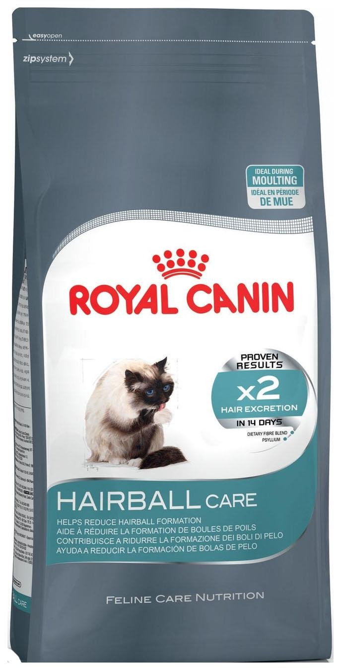 Сухой корм для кошек ROYAL CANIN Hairball Care, для выведения шерсти, 2кг фото