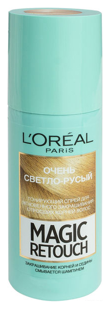 Тонирующий спрей L\'Oreal Paris Magic Retouch оттенок очень светло-русый 75 мл