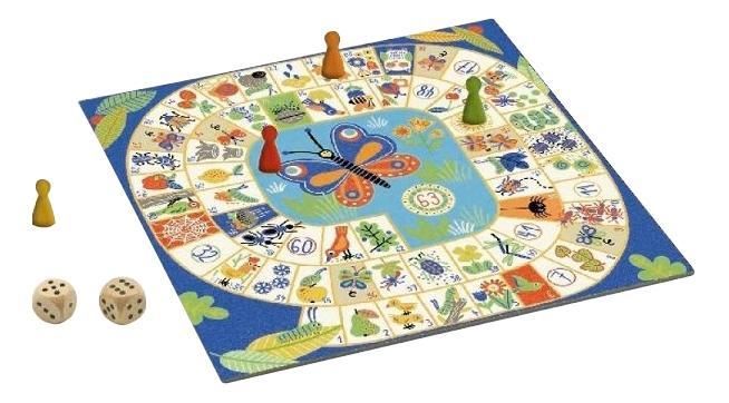 Купить Семейная настольная игра Djeco Гусёк, Семейные настольные игры