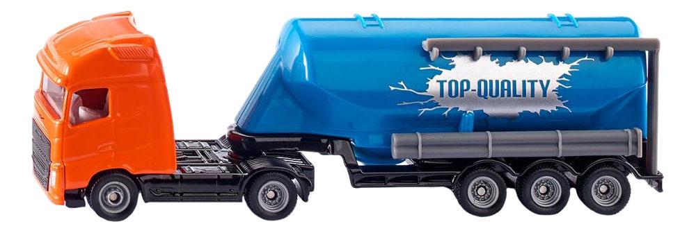 Купить Volvo грузовик с прицепом-цистерной, Грузовик Volvo с прицепом-цистерной Siku 1792 1:87, Спецслужбы