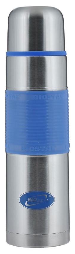 Термос Biostal Fler 1 л серебристый/черный