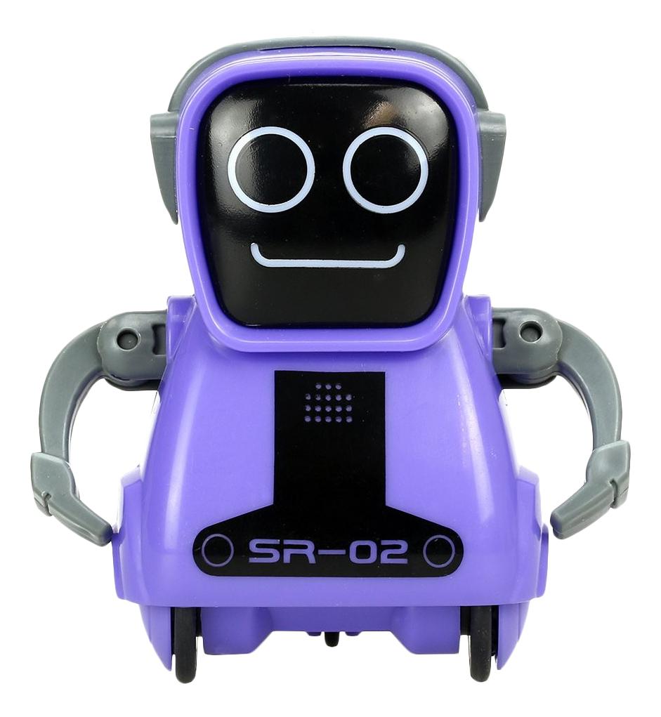 Купить Робот Покибот фиолетовый Silverlit 88529-3, Интерактивные мягкие игрушки