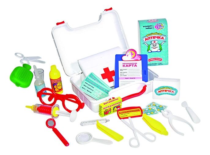 Набор доктора Волшебная аптечка с шапочкой 25 предметов Play Smart Д26093 фото