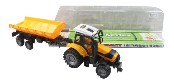 Трактор с прицепом Shenzhen Toys В80127 фото