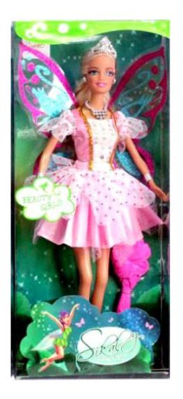 Кукла Miao Miao Принцесса-бабочка в розовом 29 см Shenzhen Toys Д62054
